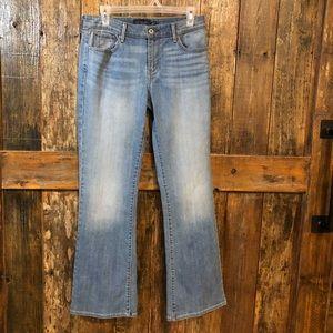 Levi's, 8, Signature Wide Leg Faded Jeans